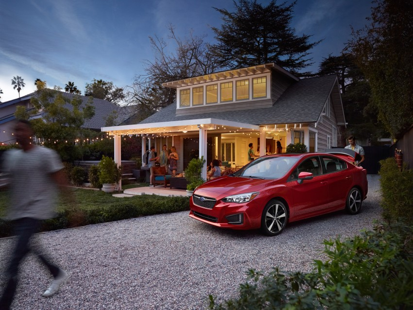 2017 Subaru Impreza sedan and hatch go live in NY Image #465867