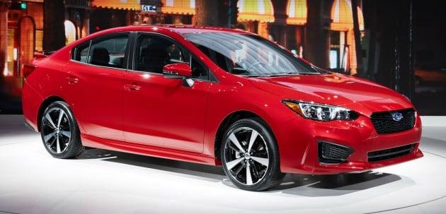 2017 Subaru Impreza sedan 1
