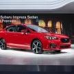 2017 Subaru Impreza sedan 2