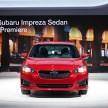 2017 Subaru Impreza sedan 5