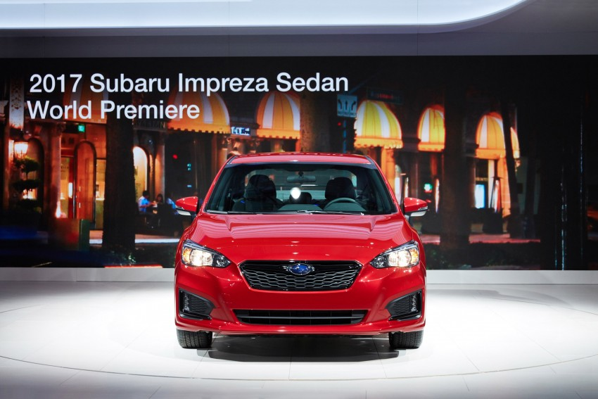 2017 Subaru Impreza sedan and hatch go live in NY Image #465880
