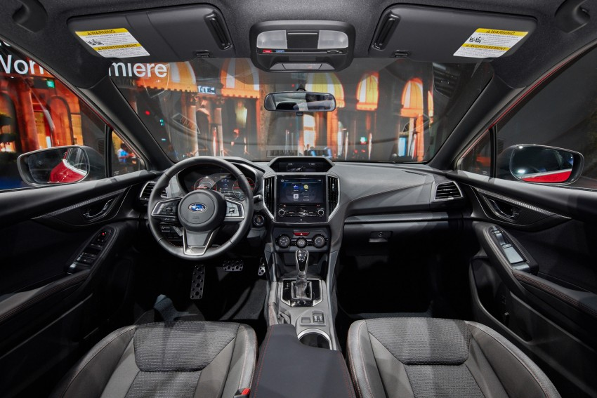 2017 Subaru Impreza sedan and hatch go live in NY Image #465883