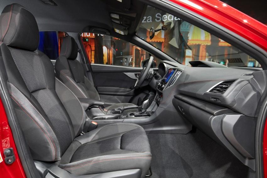 2017 Subaru Impreza sedan and hatch go live in NY Image #465884