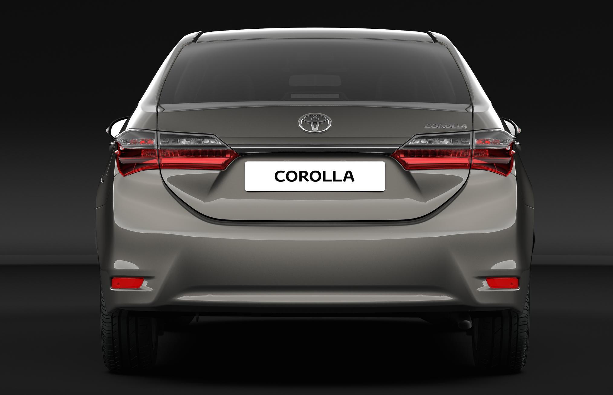 New Toyota Corolla Altis Facelift Revealed 2017 Debut