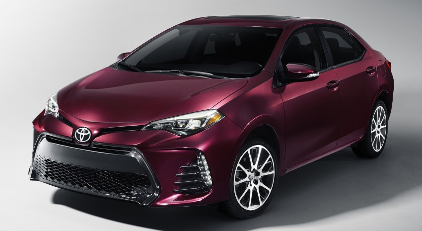 2017 Toyota Corolla facelift for North America revealed, plus a 50th anniversary Special Edition Image #467040