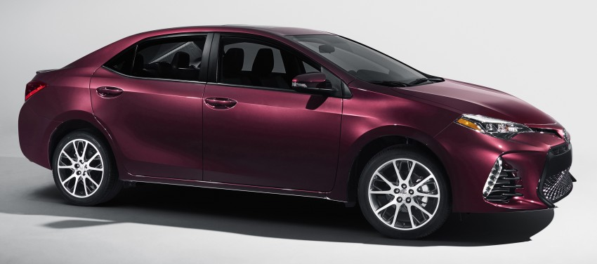 2017 Toyota Corolla facelift for North America revealed, plus a 50th anniversary Special Edition Image #467042