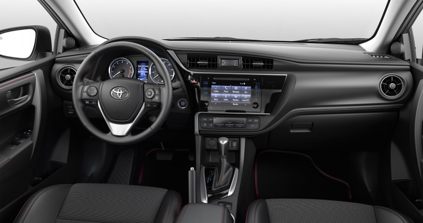2017 Toyota Corolla facelift for North America revealed, plus a 50th anniversary Special Edition Image #467044