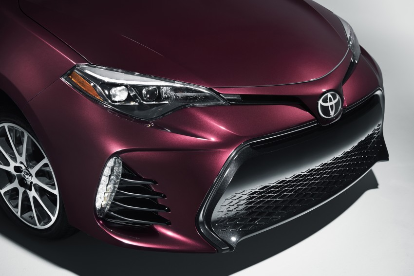 2017 Toyota Corolla facelift for North America revealed, plus a 50th anniversary Special Edition Image #467045