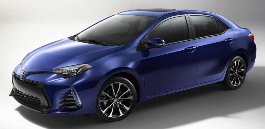 2017 Toyota Corolla facelift for North America revealed, plus a 50th anniversary Special Edition Image #467036