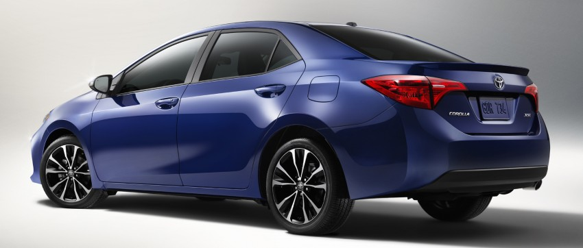 2017 Toyota Corolla facelift for North America revealed, plus a 50th anniversary Special Edition Image #467037