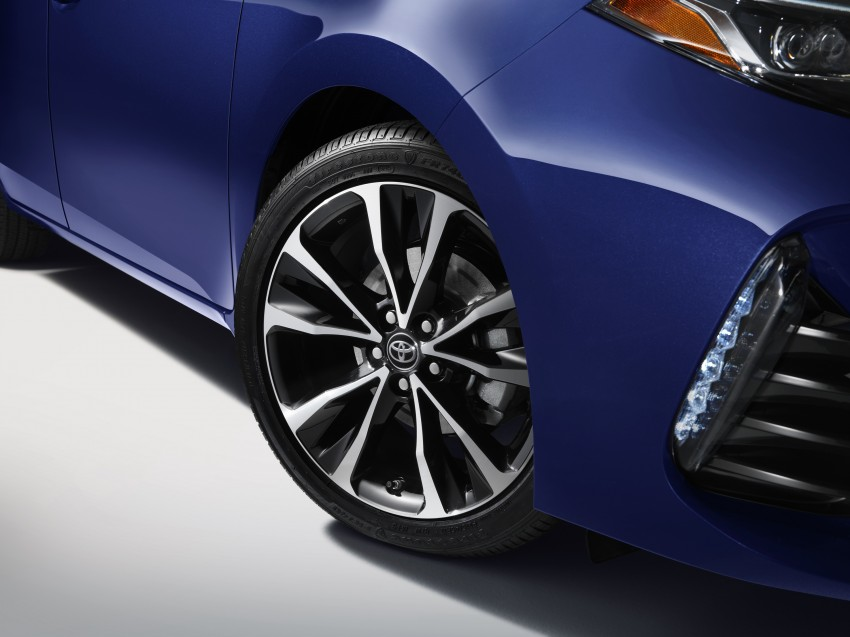 2017 Toyota Corolla facelift for North America revealed, plus a 50th anniversary Special Edition Image #467038