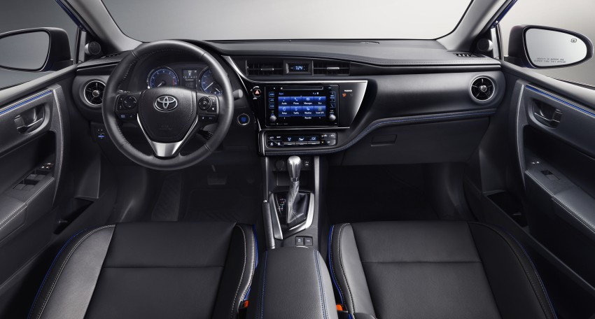 2017 Toyota Corolla facelift for North America revealed, plus a 50th anniversary Special Edition Image #467039