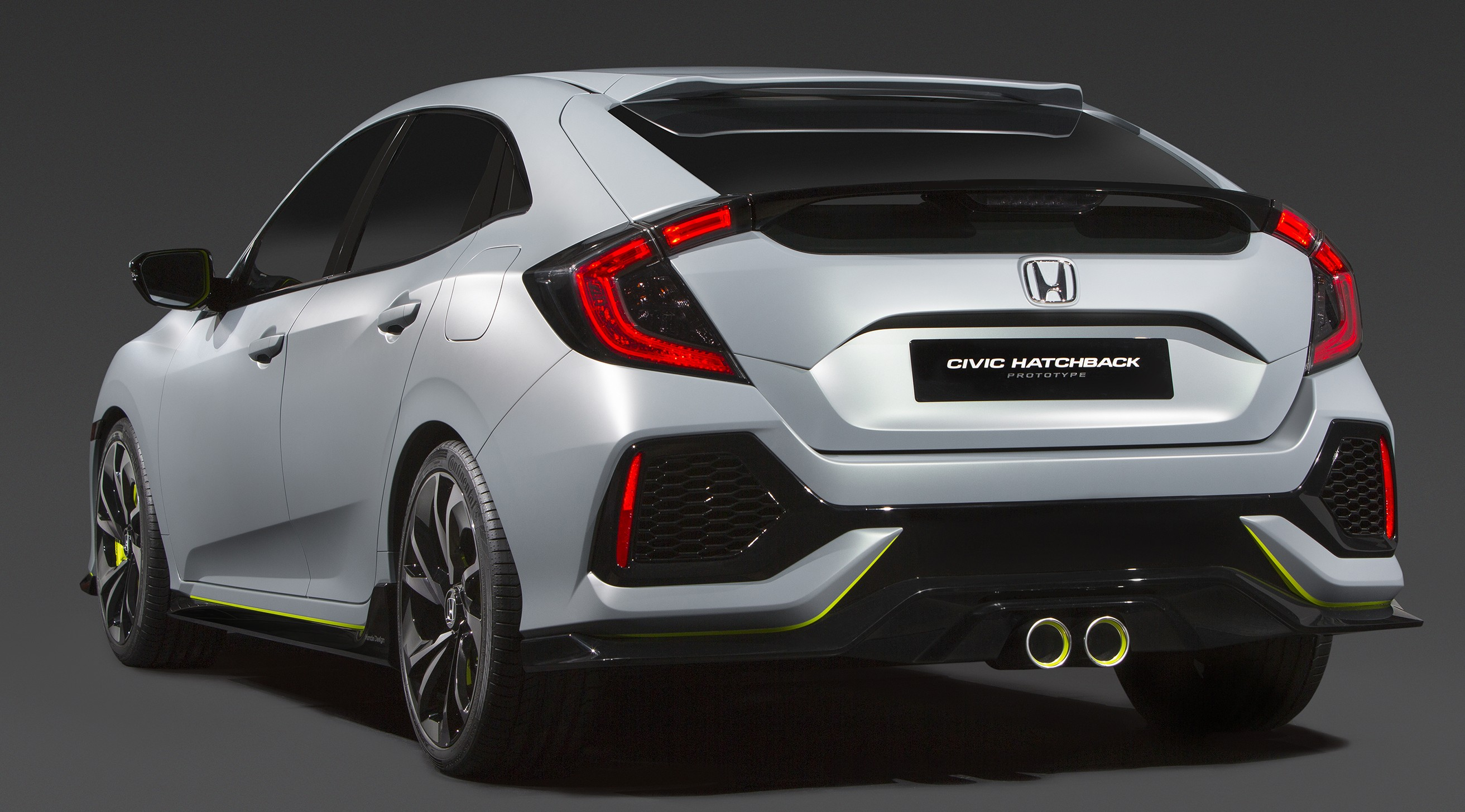 2017 Honda Civic Hatchback Prototype Further Honda Civic