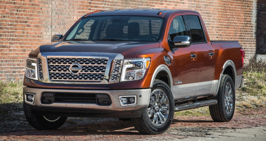 2017 Nissan Titan Crew Cab unveiled at New York; 5.0 litre Endurance V8 now available on larger Titan XD Image #466739