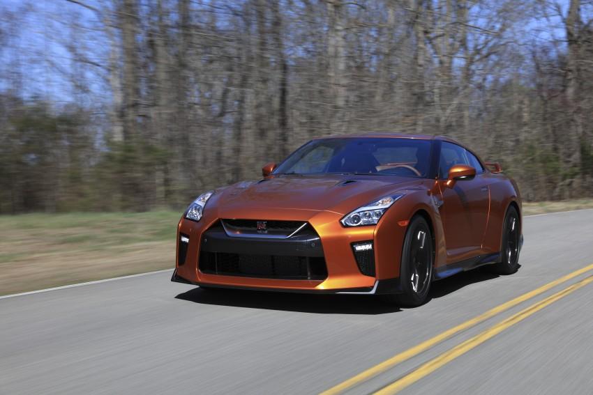 2017 Nissan GT-R shown – more premium, more power Image #465777