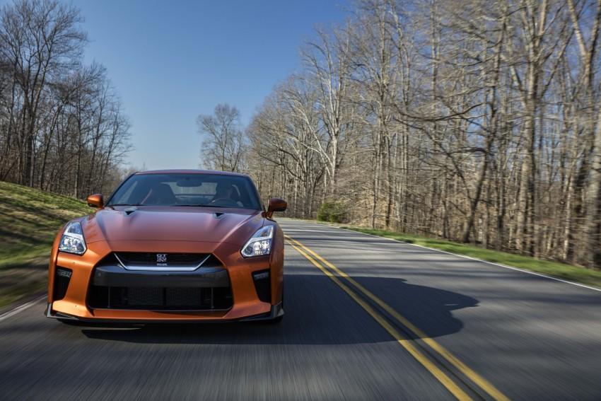 2017 Nissan GT-R shown – more premium, more power Image #465784