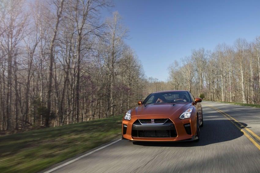 2017 Nissan GT-R shown – more premium, more power Image #465785