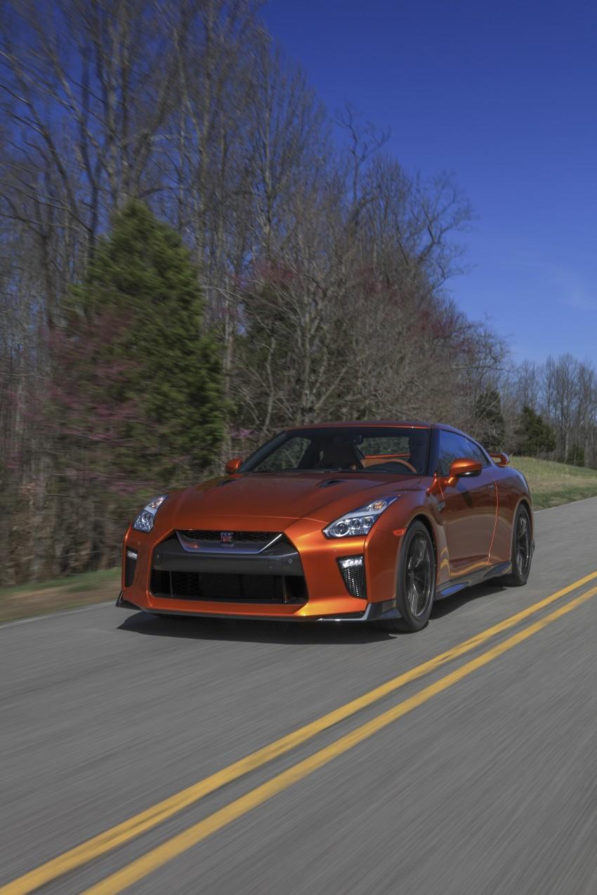 2017 Nissan GT-R shown – more premium, more power Image #465786