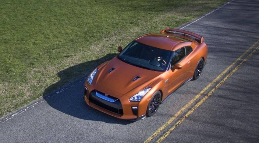 2017 Nissan GT-R shown – more premium, more power Image #465795