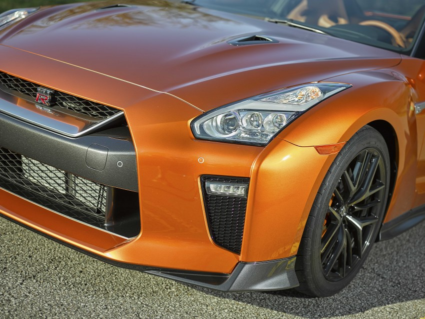 2017 Nissan GT-R shown – more premium, more power Image #465798