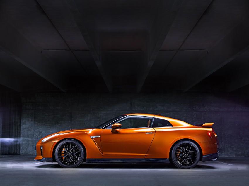 Nissan GT-R 2017 – Lebih premium, lebih berkuasa Image #466083