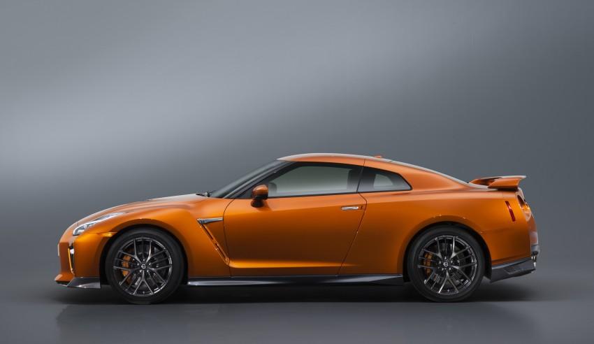 2017 Nissan GT-R shown – more premium, more power Image #465809