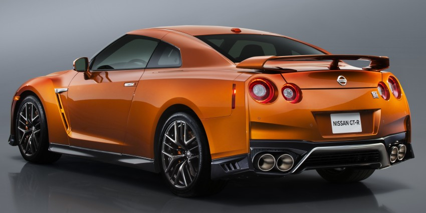 Nissan GT-R 2017 – Lebih premium, lebih berkuasa Image #466091