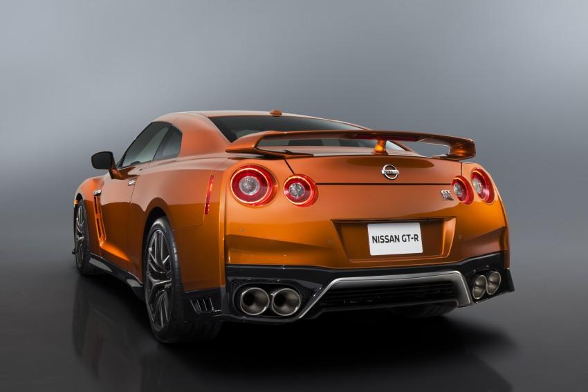 2017 Nissan GT-R shown – more premium, more power Image #465890