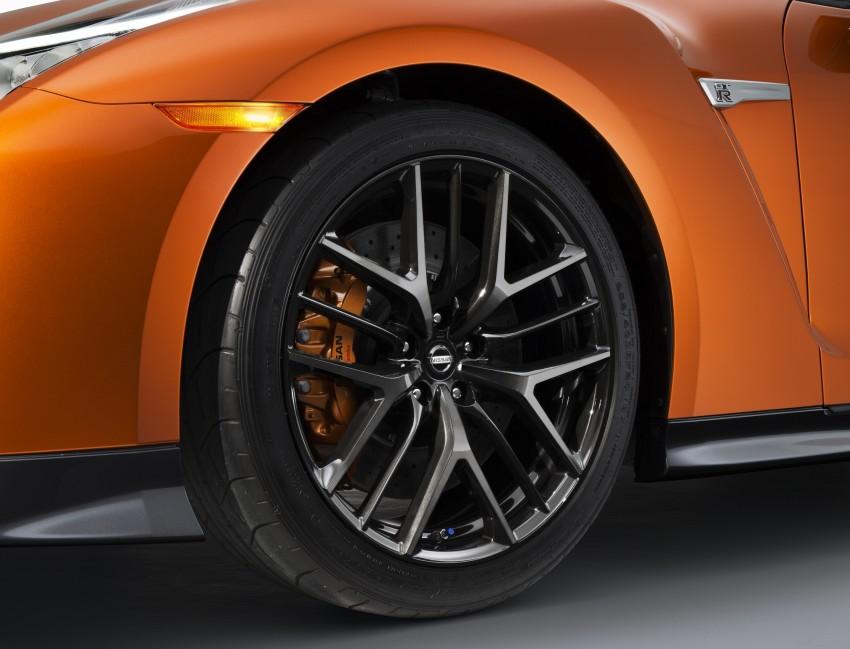 2017 Nissan GT-R shown – more premium, more power Image #465893