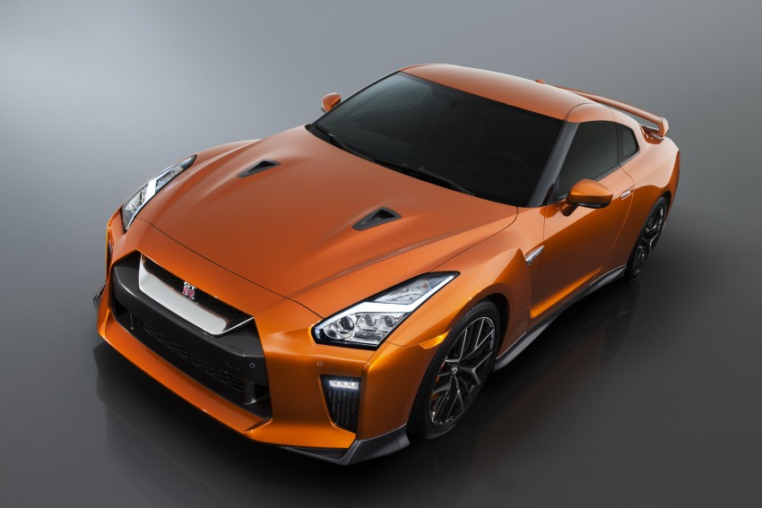 2017 Nissan GT-R shown – more premium, more power Image #465894