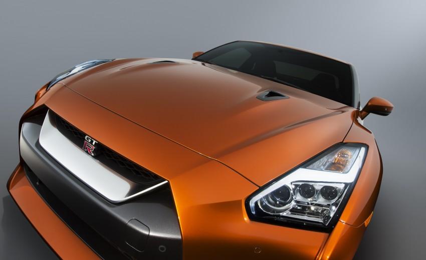 2017 Nissan GT-R shown – more premium, more power Image #465895