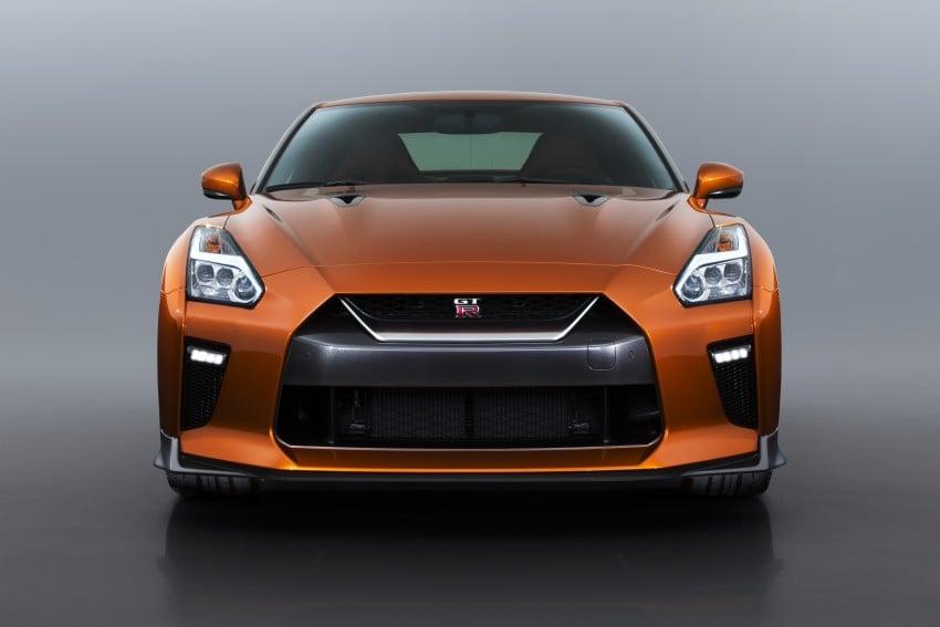2017 Nissan GT-R shown – more premium, more power Image #465897