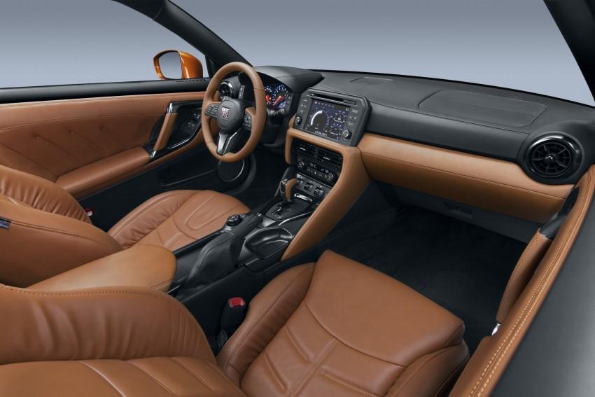 2017 Nissan GT-R shown – more premium, more power Image #465902