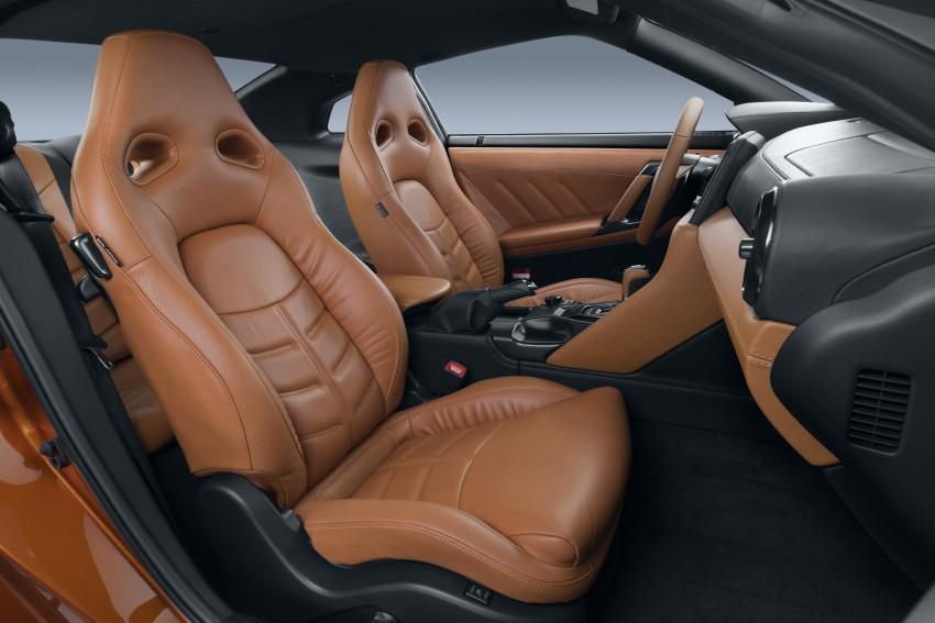 2017 Nissan GT-R shown – more premium, more power Image #465903