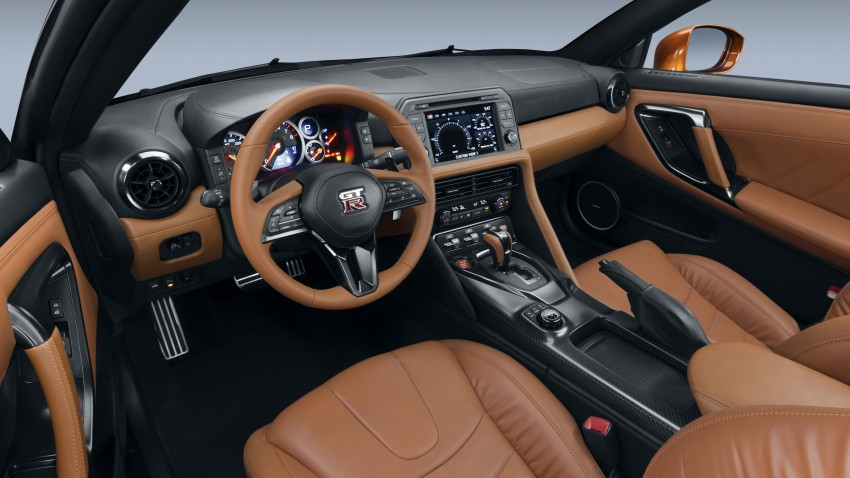 2017 Nissan GT-R shown – more premium, more power Image #465904
