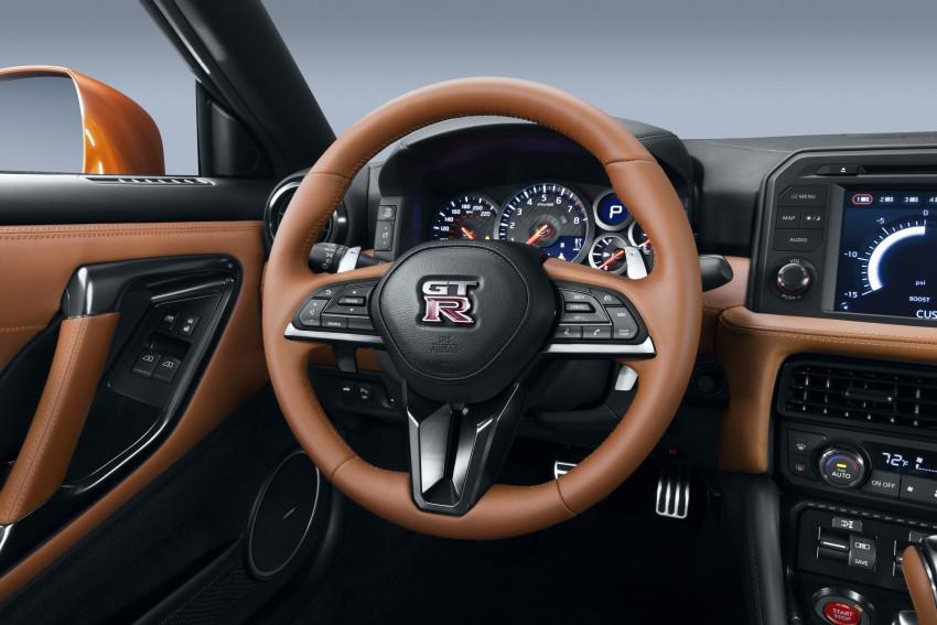 Nissan GT-R 2017 – Lebih premium, lebih berkuasa Image #466116
