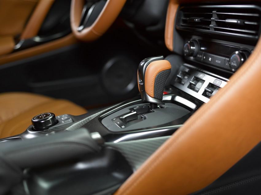 2017 Nissan GT-R shown – more premium, more power Image #465909