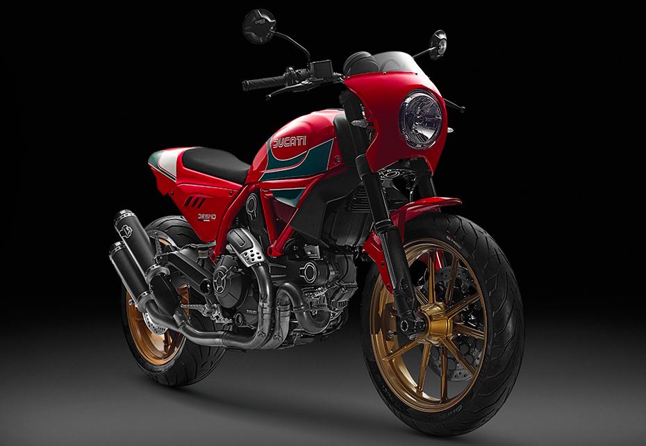 K Tech Ducati Scrambler