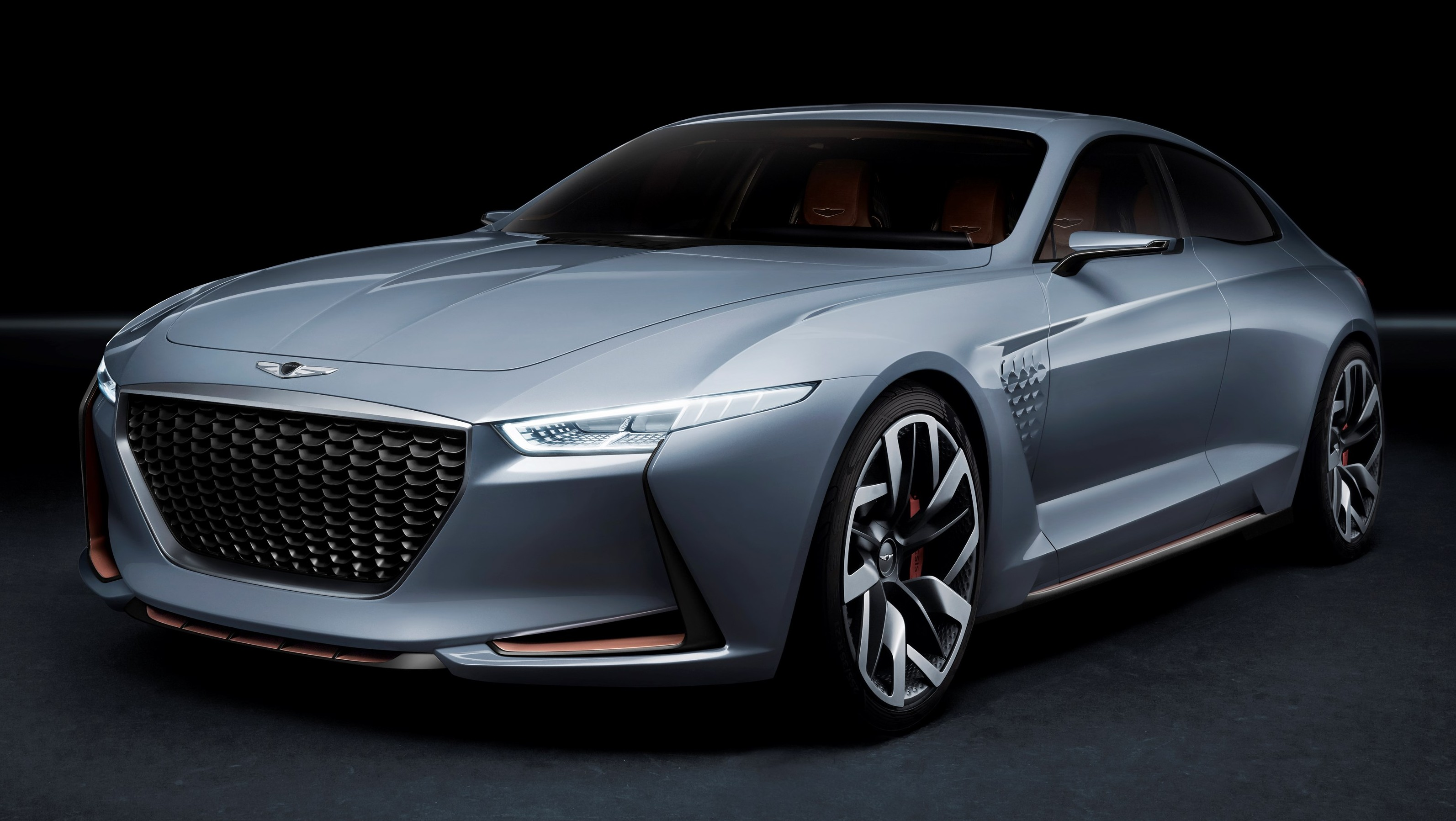 Genesis New York Concept Hints At Bmw 3 Series Rival Paul