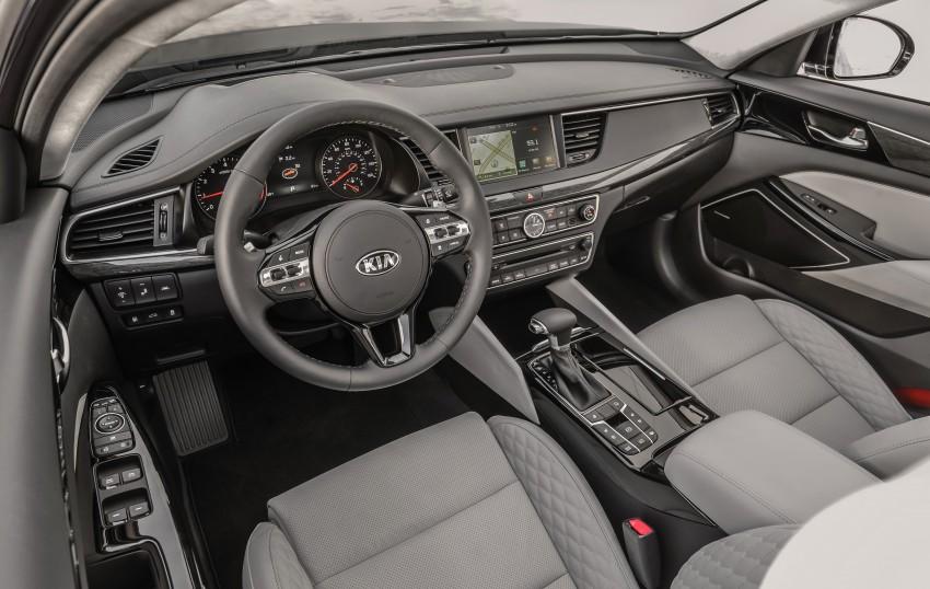 2017 Kia Cadenza – full details revealed at New York Image #467651
