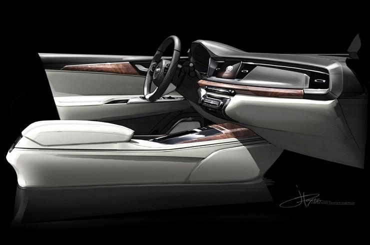 2017 Kia Cadenza – full details revealed at New York Image #467659
