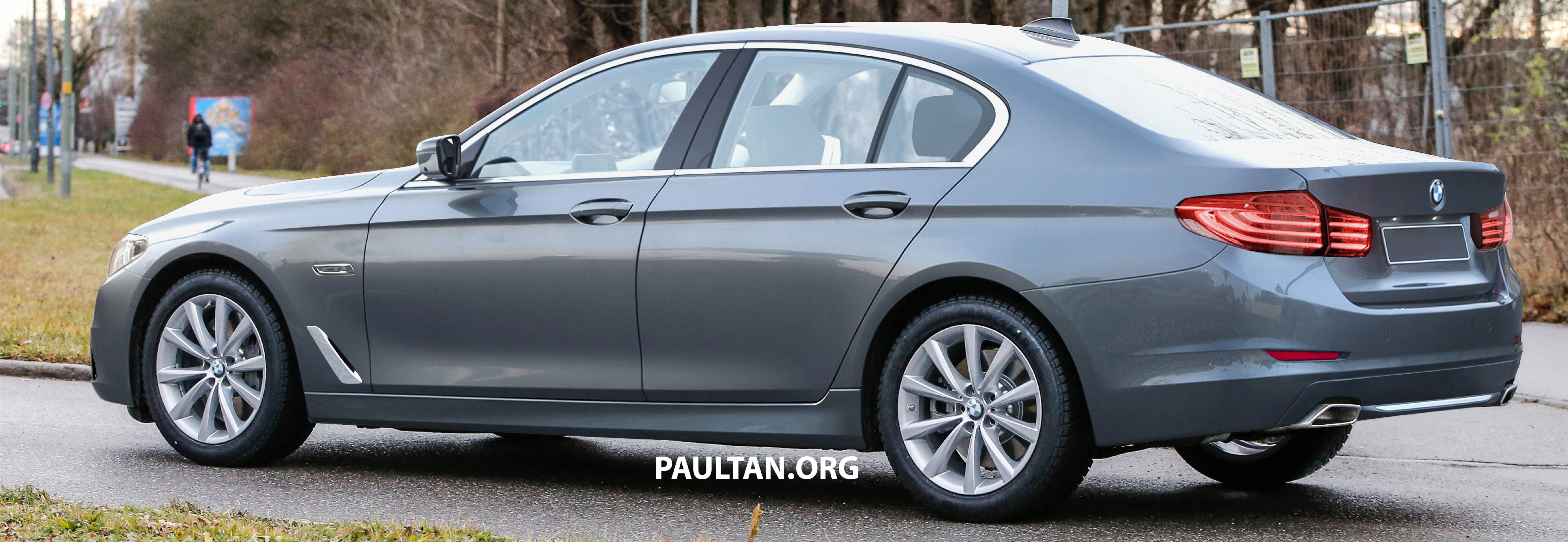 2017 Bmw 5 Series G30 Saloon Visualised Rendered Paul