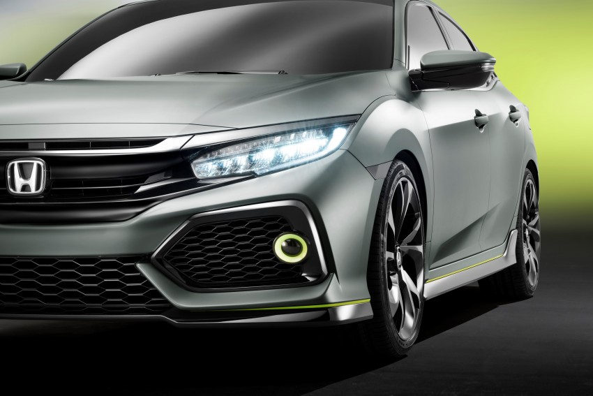 Honda Civic Hatchback Prototype goes live in Geneva; early 2017 launch for Europe, US market to follow Image #451511