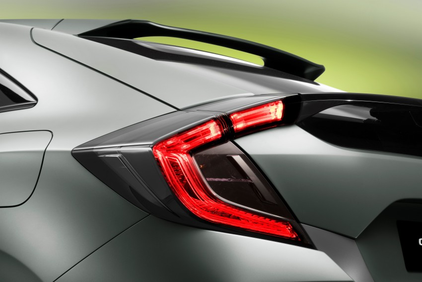 Honda Civic Hatchback Prototype goes live in Geneva; early 2017 launch for Europe, US market to follow Image #451506