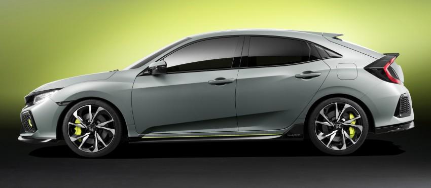 Honda Civic Hatchback membuat penampilan sulung di Geneva Motor Show – bakal dilancar pada 2017 Image #452086