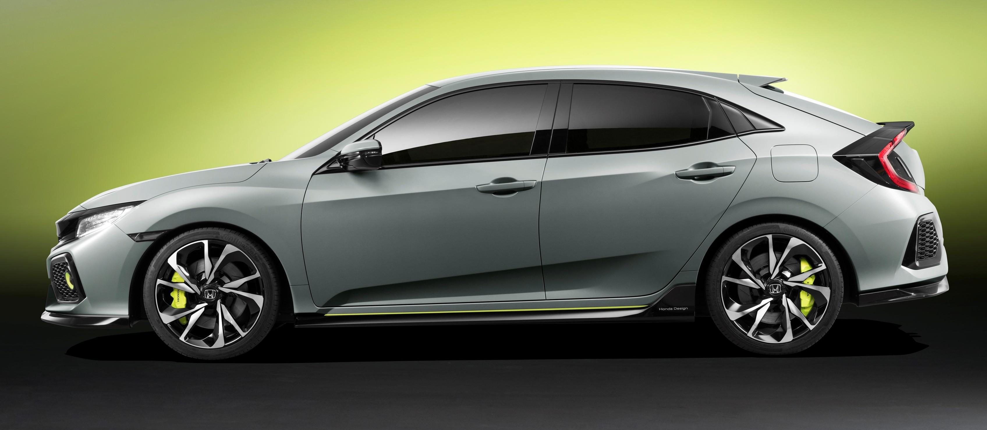 Honda Civic Hatchback membuat penampilan sulung di Geneva Motor Show ...