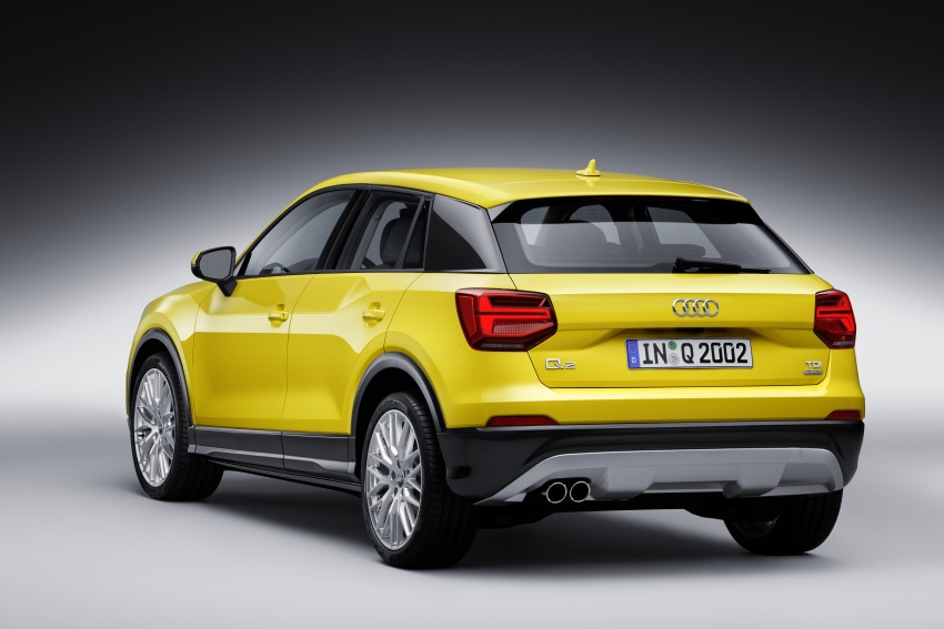 Audi Q2 – new compact crossover debuts in Geneva Image #451983
