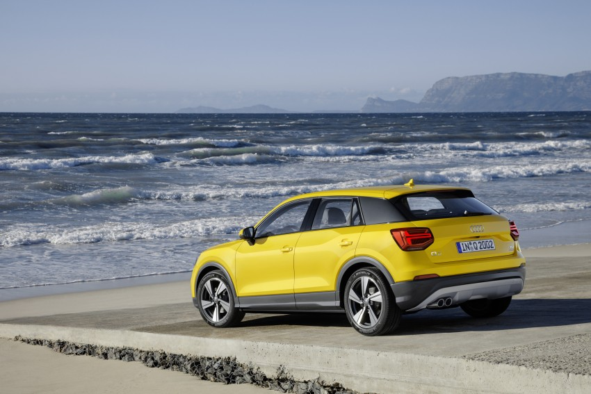 Audi Q2 – new compact crossover debuts in Geneva Image #451982