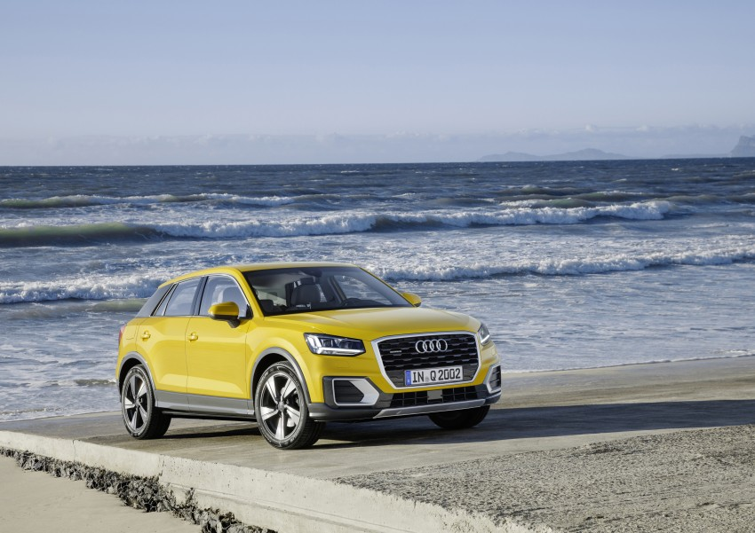 Audi Q2 – new compact crossover debuts in Geneva Image #451981
