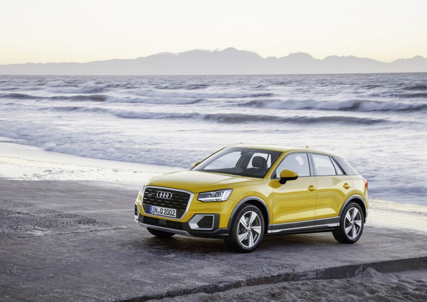 Audi Q2 – new compact crossover debuts in Geneva Image #451978